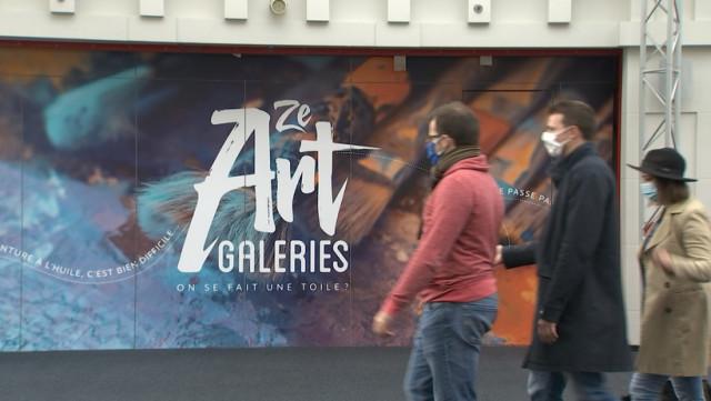 Les artistes au service d'associations caritatives aux Galeries St Lambert