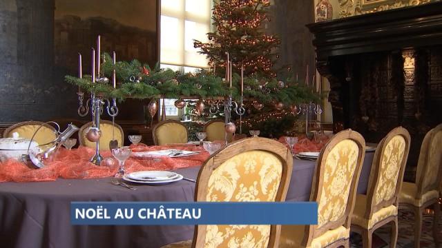 L'Art de la Table pour Noël au Château à Modave