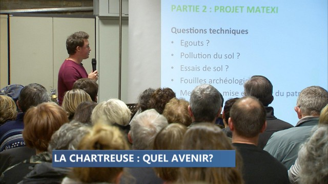 L'avenir du site de la Chartreuse fait toujours débat