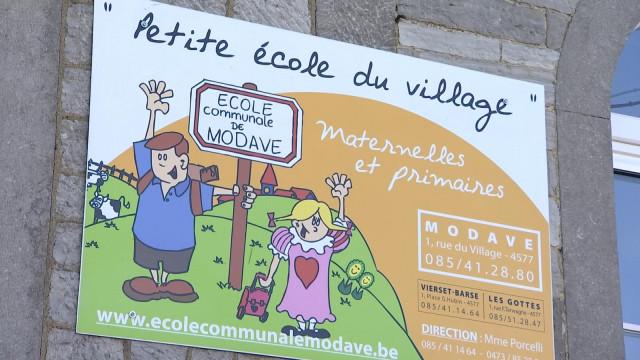 L'école communale de Modave à nouveau en sursis!
