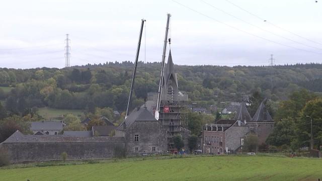 L'église de Ferrières retrouve un clocher