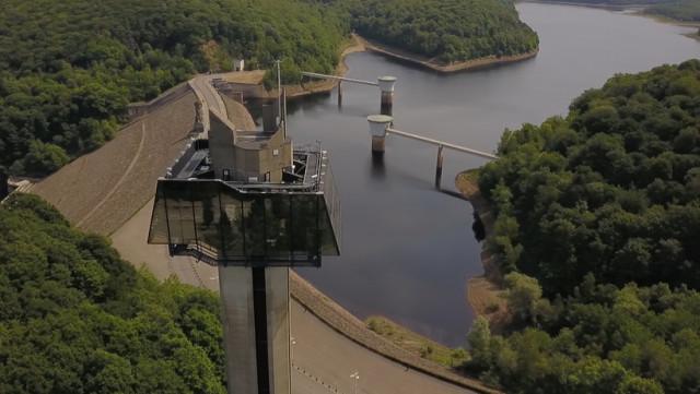 Vu du Ciel de l'été : 5 lacs de barrage en Province de Liège