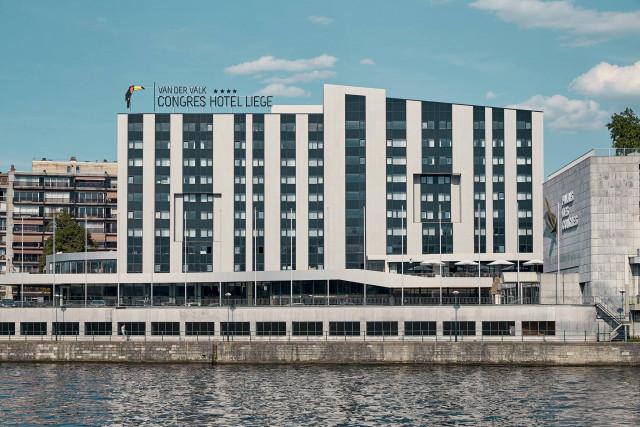 L'hôtel Van der Valk tout à fait opérationnel