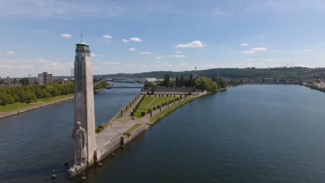 L'Ile Monsin a été la première zone du port autonome de Liège