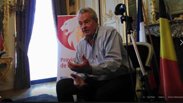 L'invité : Alain Delon au Festival du film policier