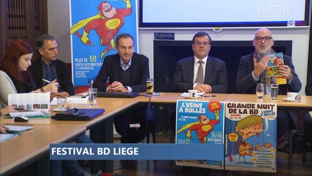 L'usine à Bulles, festival BD, s'installera au Théâtre de Liège