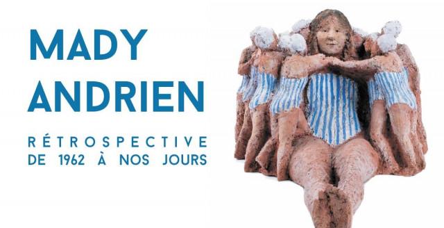 La Boverie : rétrospective Mady Andrien