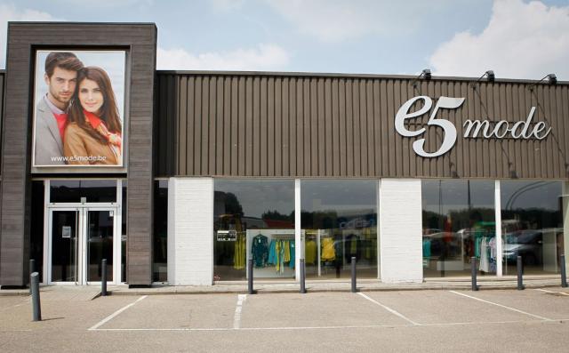 La chaine e5 mode ferme ses 12 magasins wallons !