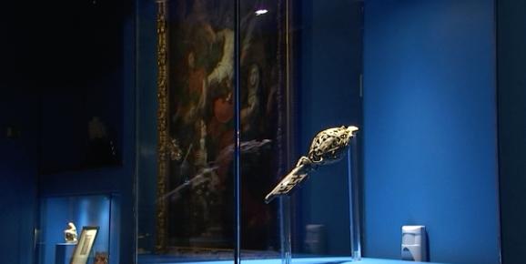 A voir: la clé-reliquaire de saint Hubert