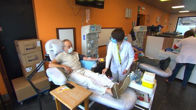 La croix-rouge recherche du plasma d'anciens malades covid