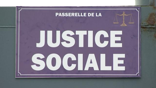 La CSC baptise la Passerelle de la Justice Sociale