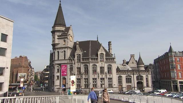 La Grand Poste de Liège en travaux