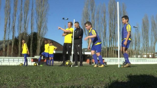 La Juventus entraîne des jeunes à Grivegnée