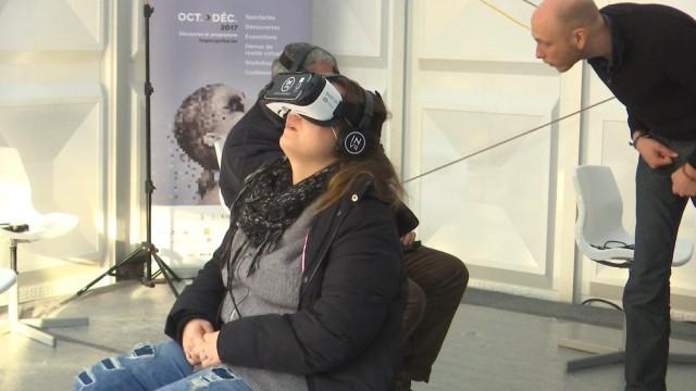 La réalité virtuelle s'installe au coeur de Liège