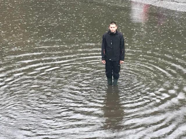 La région liégeoise les pieds dans l'eau !