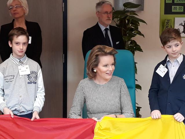 La Reine Mathilde à la résidence Saint-Joseph, BioWanze et J&Joy