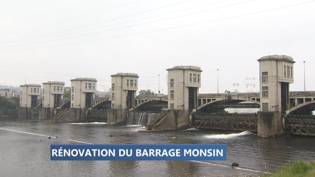 La rénovation du barrage de l'Ile Monsin débute lundi
