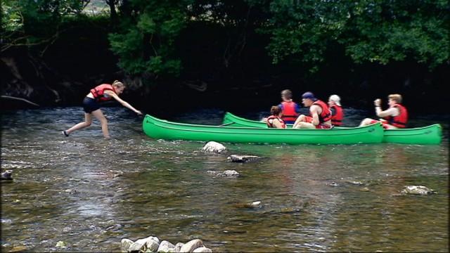 La sècheresse met en danger l'activité de location de kayaks