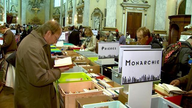 La traditionnelle foire aux livres d'occasion du Séminaire