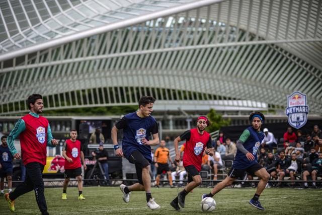 Football : le Brésil s'invite à la Gare des Guillemins !