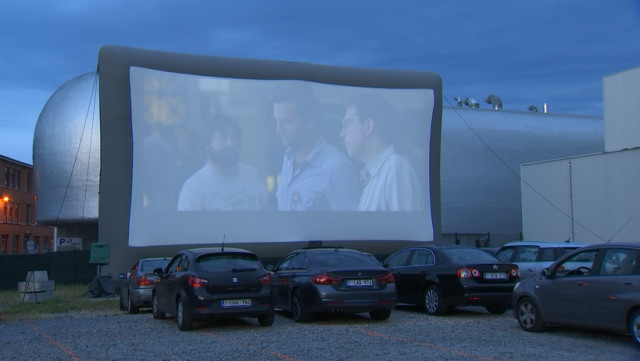 Cinéma: un retour en mode drive-in