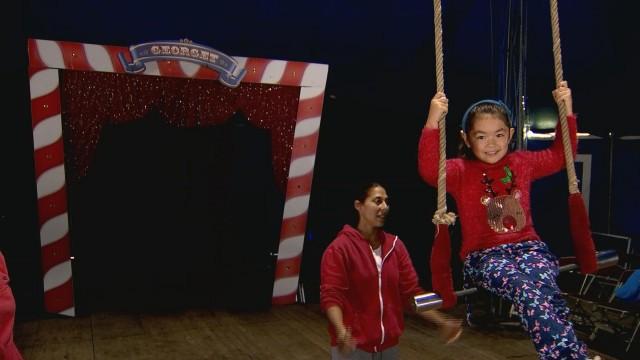 Les élèves du Sartay en immersion au cirque