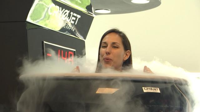 Le corps plongé à -150°C, nouvelle sensation à Liège
