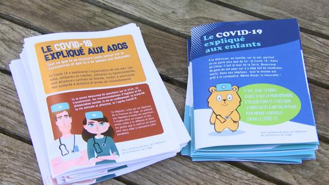 Le Covid-19 expliqué aux enfants et aux adolescents