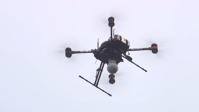 Le drone de la douane