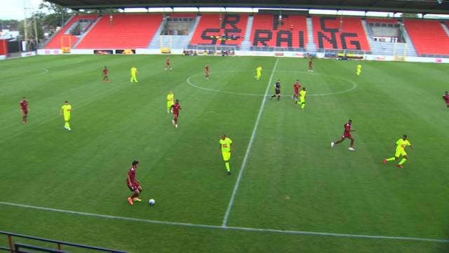 Le FC Metz joue face à la Gantoise... à Seraing !