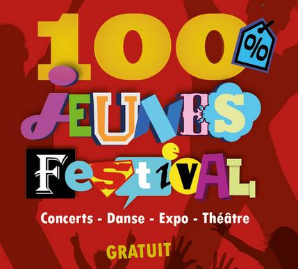 Le festival 100 % Jeunes, c'est ce week-end