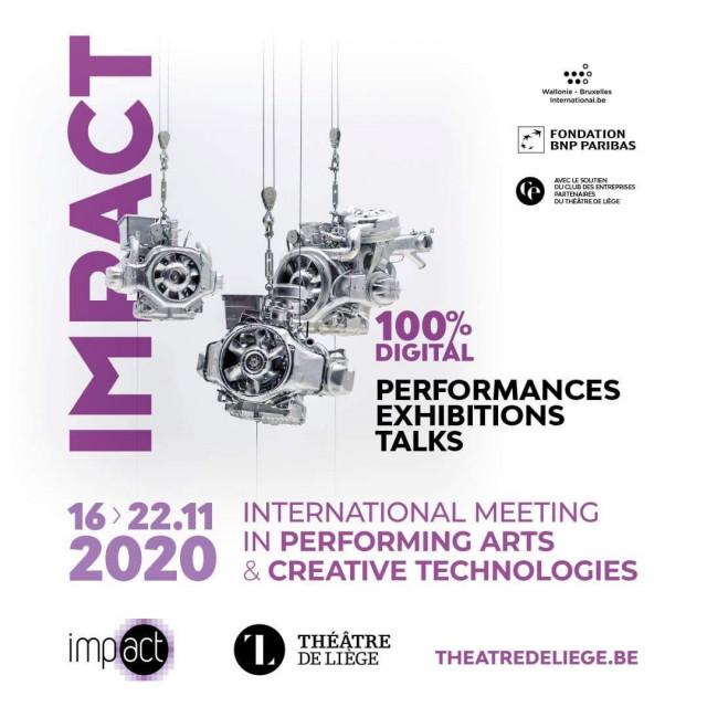Le Festival Impact du Théâtre de Liège sera totalement numérique