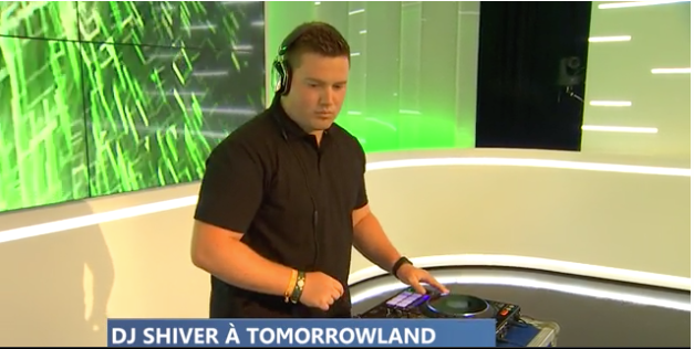 Le Liégeois DJ Shiver à Tomorrowland !