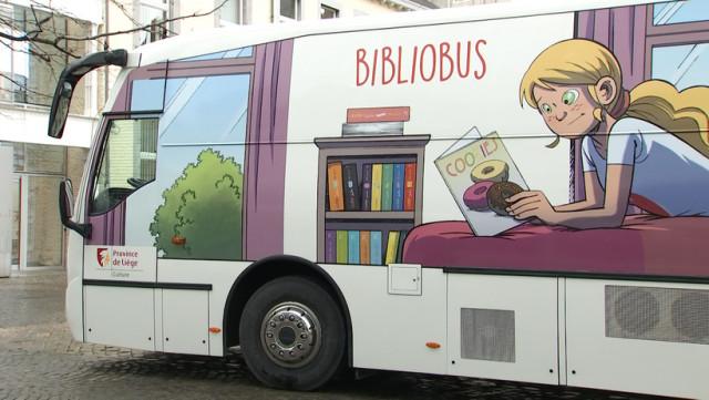 Le nouveau Bibliobus de la Province