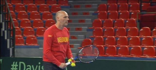 Le nouveau capitaine de l'équipe de Fed Cup débutera à Liège