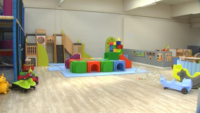 Le nouveau terrain de jeux des tout-petits !