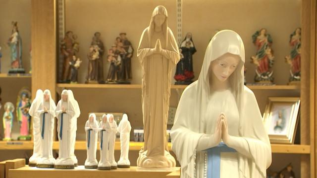 Le pape va recevoir une Vierge de Banneux