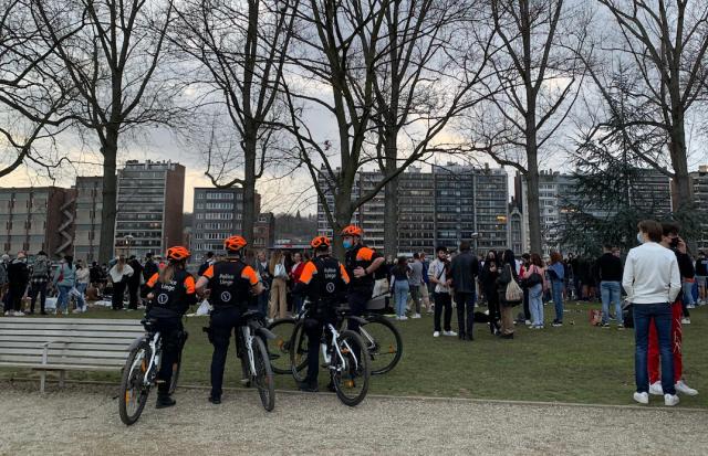 Le parc de la Boverie surveillé au lendemain du grand rassemblement