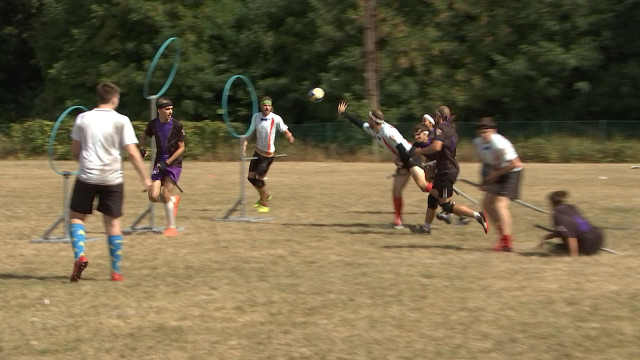 Le quidditch de Harry Potter a son tournoi international à Liège