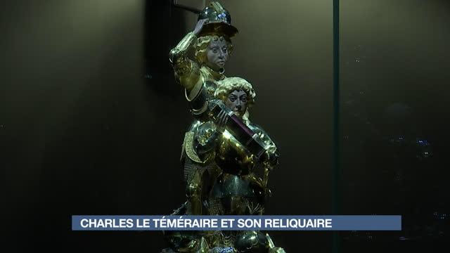 Le reliquaire de Charles de Bourgogne a 550 ans  !