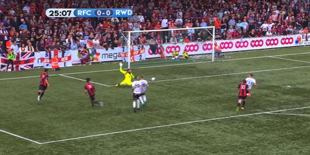 Le RFC Liège surpris à domicile par le RWDM