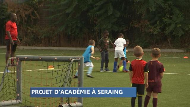 Le RFC Seraing se dote d'une académie pour ses jeunes
