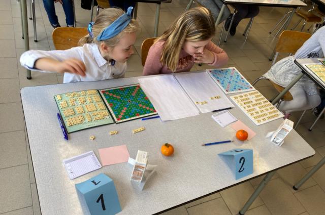 Le Scrabble : un jeu d'enfants