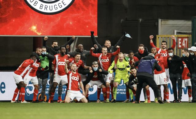 Le Standard élimine le Club de Bruges en quarts