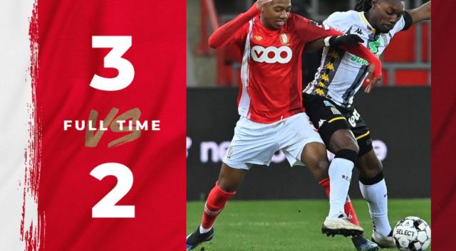 Le Standard s'offre un choc wallon intense contre Charleroi