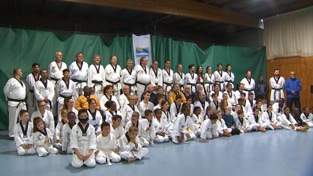 Le Taekwondo Taegeug d'Ans fête ses 40 ans