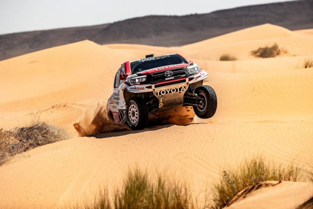 Le team Overdrive Racing gagne le Dakar avec Al-Attiyah !