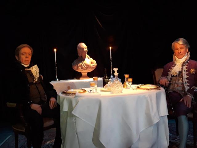 """Le sort de la France se joue au théâtre de l'Etuve dans """"Le souper"""""""