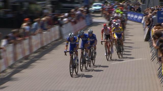 Le Tour de Belgique à vélo passait par Seraing