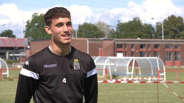 """Le Verlainois Maxime Busi (Sporting Charleroi): """"Mon rêve? Les Diables Rouges et...l'OM"""""""
